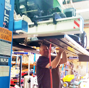 Servicing at Albury Engineering